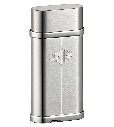 CARTIER Lighter with cartier lozenge decor