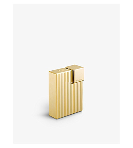 CARTIER Godrons decor square lighter