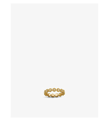 CARTIER Cactus de Cartier 18ct gold and diamond wedding ring