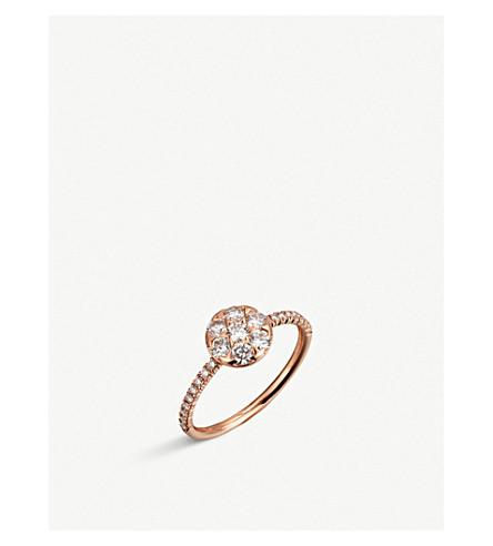 CARTIER Étincelle de Cartier 18ct pink-gold and diamond ring
