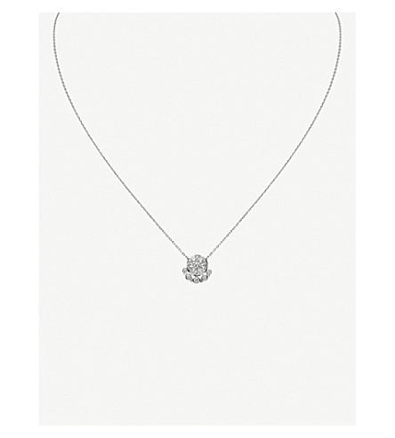 CARTIER Étincelle de Cartier 18ct white-gold and diamond necklace