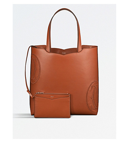 "CARTIER Happy Birthday ""Le 18h"" leather tote"