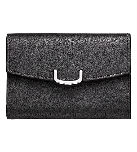 CARTIER C de Cartier leather business card holder