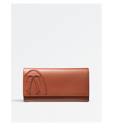 CARTIER Happy Birthday leather wallet