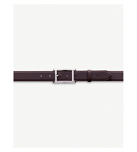 CARTIER Tank Americaine reversible leather belt