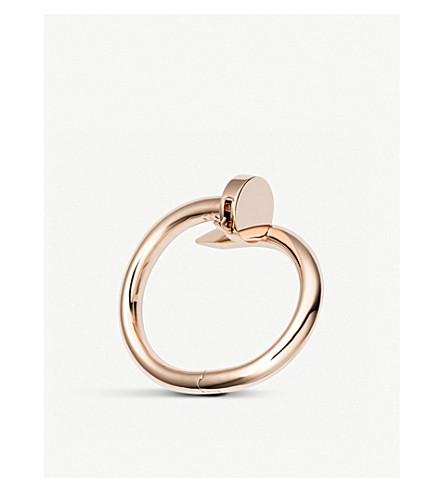 CARTIER Juste un Clou 18ct pink-gold bracelet (Pink+gold