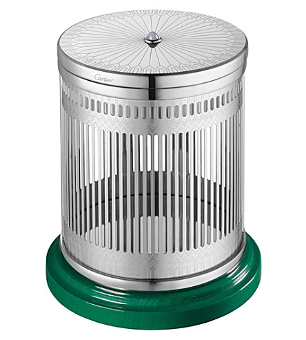 CARTIER Scented candle and holder