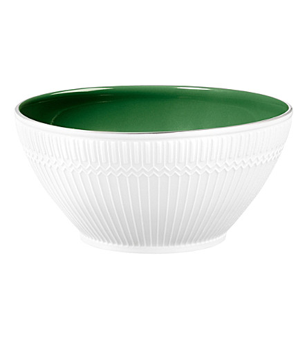 CARTIER Engraved porcelain bowl