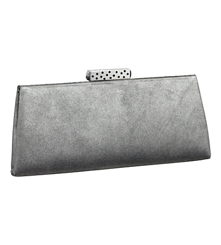 CARTIER Evening goatskin clutch (Silver