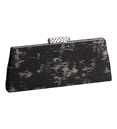 CARTIER Evening lisio clutch (Anthracite