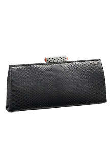CARTIER Snake skin clutch bag
