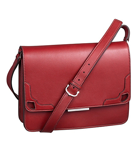 CARTIER Marcello de Cartier bag with long strap (Red