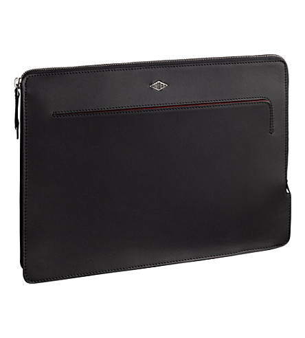 CARTIER Louis Cartier leather portfolio (Black