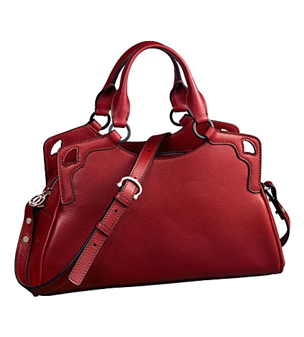 CARTIER Marcello de Cartier Worldwide mini bag (Red