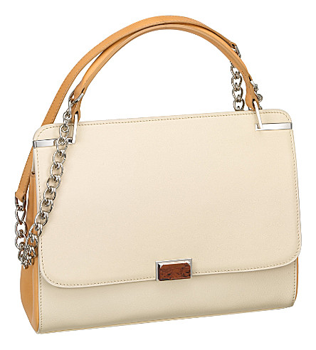 CARTIER Jeanne Toussaint chain bag (Cream+and+hazelnut
