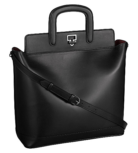 CARTIER Jeanne Toussaint leather tote (Black