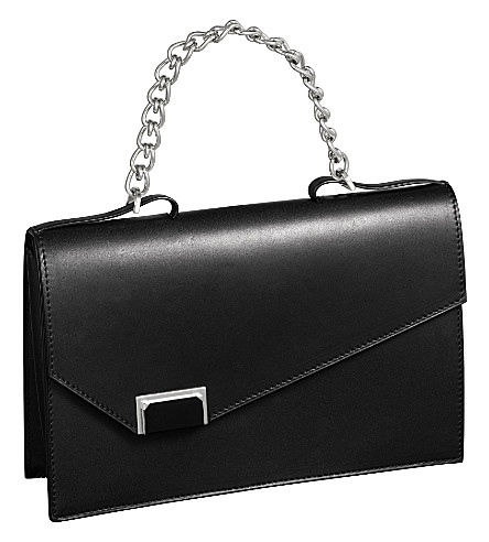 CARTIER Jeanne Toussaint asymmetric clutch bag (Black