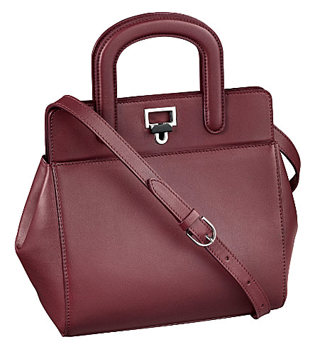 CARTIER Jeanne Toussaint mini tote bag (Burgundy