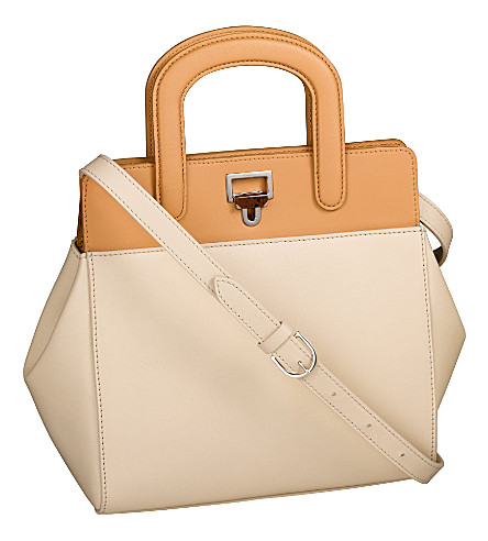 CARTIER Jeanne Toussaint mini tote bag (Cream+and+hazelnut
