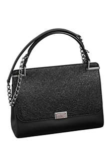 CARTIER Jeanne Toussaint leather chain bag