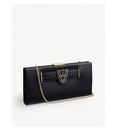 CARTIER Panthère de Cartier calfskin clutch bag