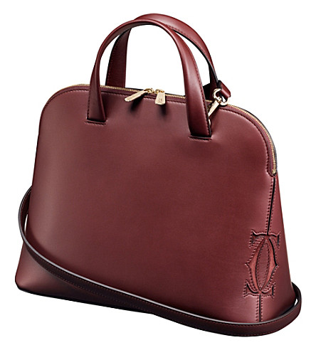 CARTIER Must-C small calfskin tote bag