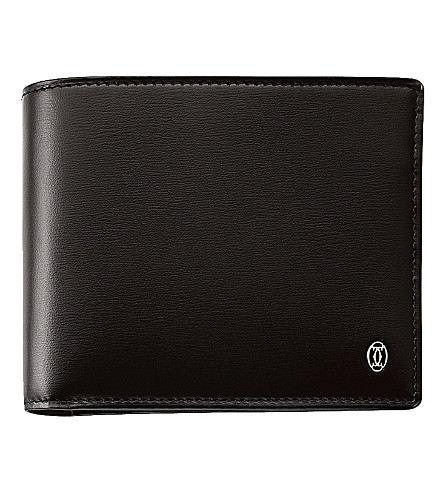 CARTIER Pasha 6 slot credit card holder (Black