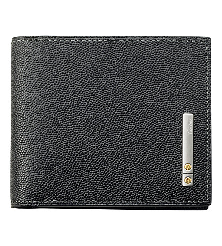 CARTIER Santos de Cartier 6 slot credit card holder (Black
