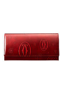 CARTIER Happy Birthday 12 slot credit card wallet