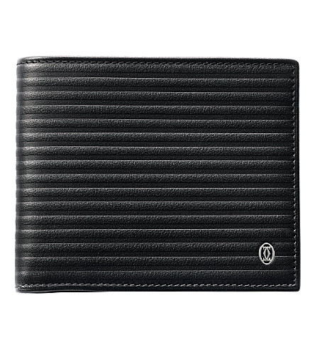CARTIER Pasha 6 slot credit card wallet (Black