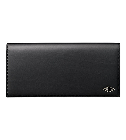 CARTIER Louis Cartier zipped international wallet (Black