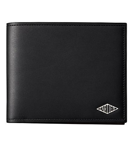 CARTIER Louis Cartier 3 slot wallet (Black
