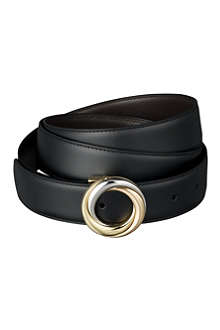 CARTIER Reversible strap buckle belt