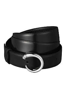 CARTIER Panthère leather belt