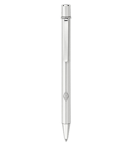 CARTIER Must de Cartier palladium-finish pen