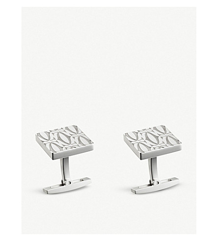 CARTIER C de Cartier decor cufflinks