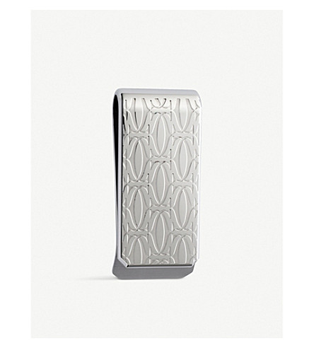 CARTIER C de Cartier decor money clip