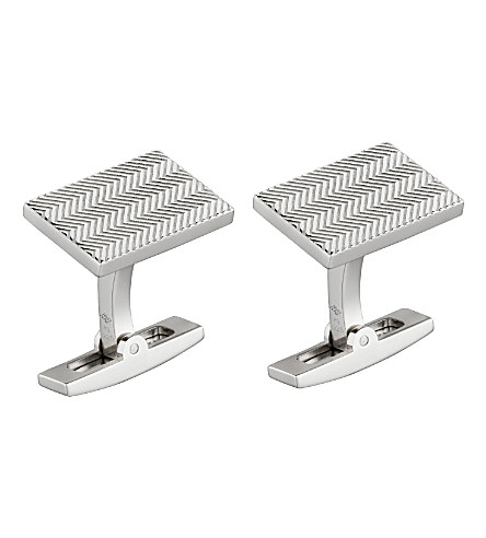 CARTIER Chevron Lines cufflinks