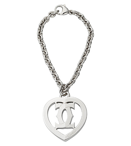 CARTIER Heart and logo key ring