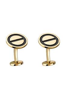 CARTIER Love gold cufflinks
