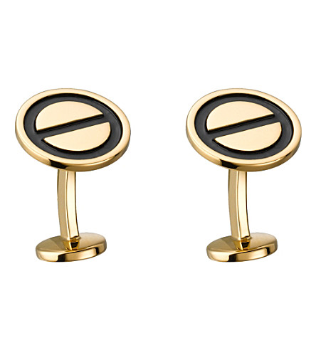 CARTIER Love gold cufflinks