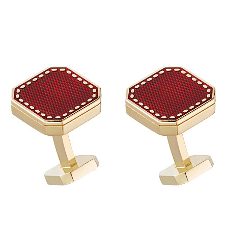 CARTIER Cartier box shape gold cufflinks