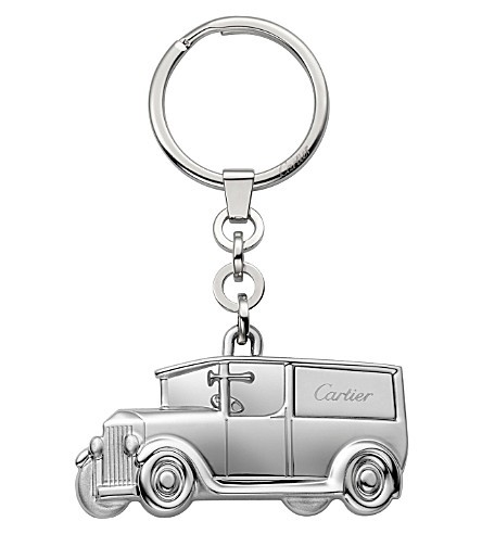 CARTIER Delivery Car stainless steel key ring