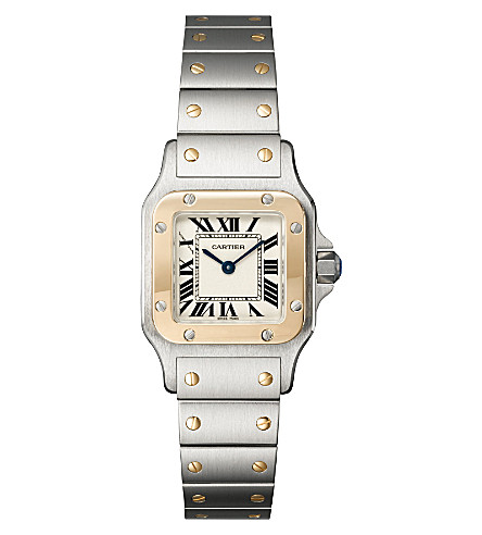 CARTIER Santos de Cartier Galbée small watch
