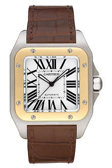 CARTIER Santos 100 large watch