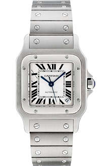 CARTIER Santos de Cartier Galbée extra-large watch