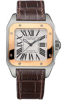 CARTIER Santos 100 medium watch