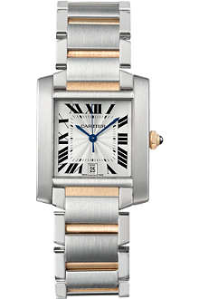 CARTIER Tank Française large watch