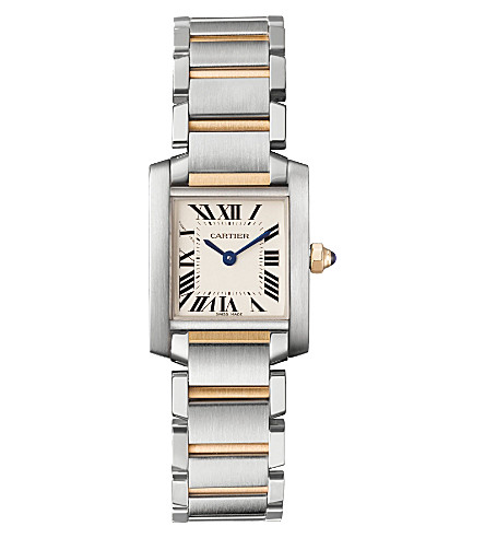 CARTIER Tank Française small watch