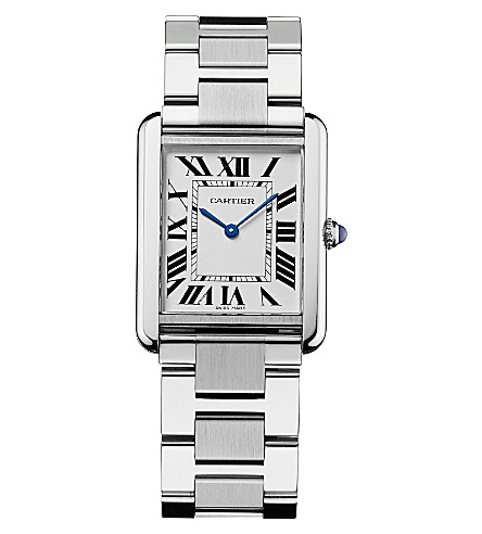 CARTIER Tank Solo steel large watch
